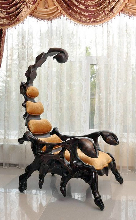 Giant Scorpion Chair