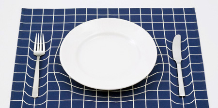 Optical Illusion Placemat