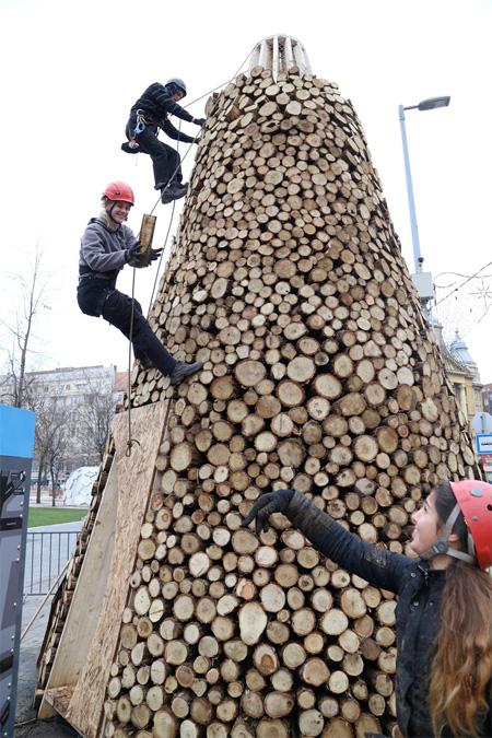 Budapest Christmas Tree