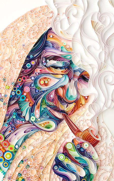 Paper Artist Yulia Brodskaya