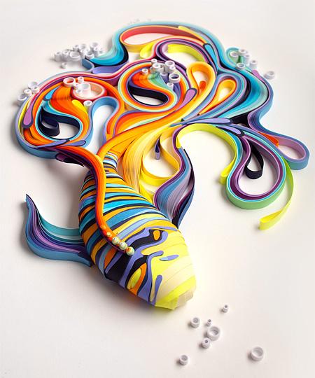 Paper Artwork by Yulia Brodskaya