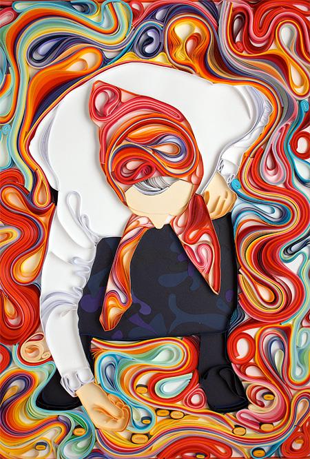 Paper Illustration by Yulia Brodskaya