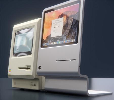 CURVED Apple Macintosh