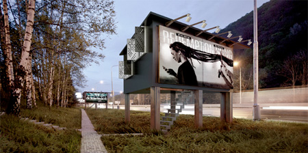 Billboard Houses