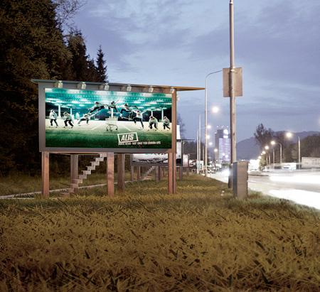 Billboard Houses for Homeless