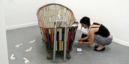 Bathtub Made of Books