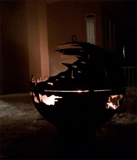 Death Star Barbecue Grill