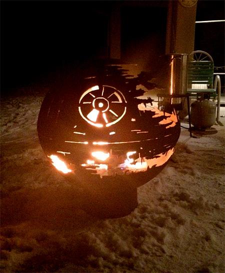 Death Star Fire