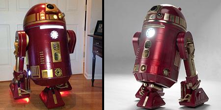 Iron Man R2-D2