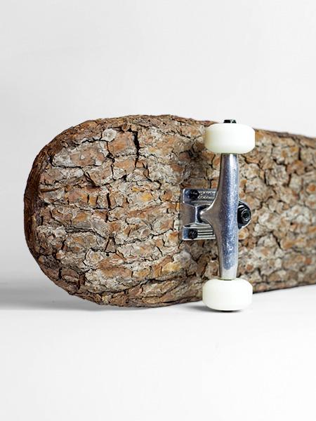 Natural Wooden Skateboard