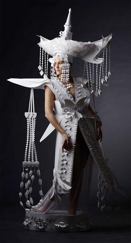 Asya Kozina Paper Fashion