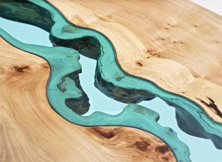 Wooden River Tables