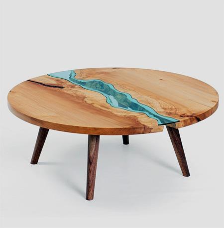 river tables. Black Bedroom Furniture Sets. Home Design Ideas