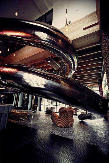 Indoor Slide Hotel