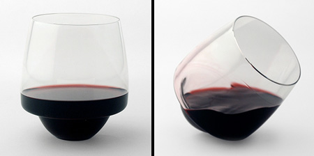 Spill-proof Wine Glass