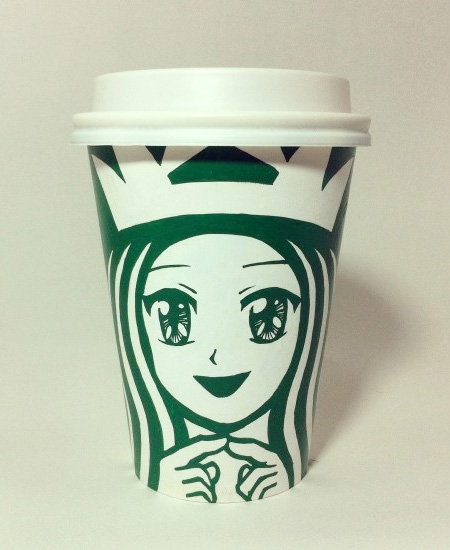 Starbucks Coffee Art