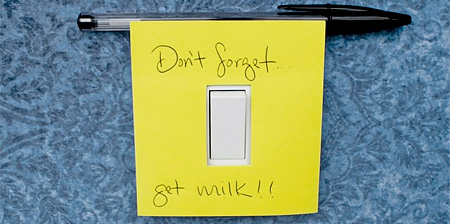 Light Switch Notes