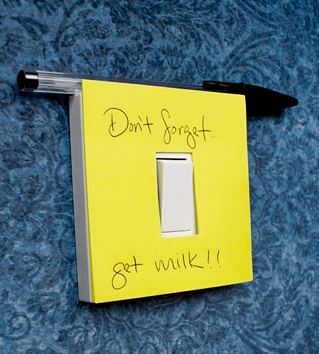 Switch Post-It Notes