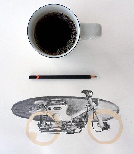 Coffee Ring Art
