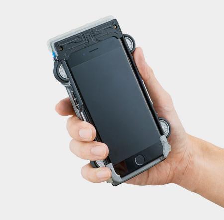 DeLorean Time Machine Phone Case