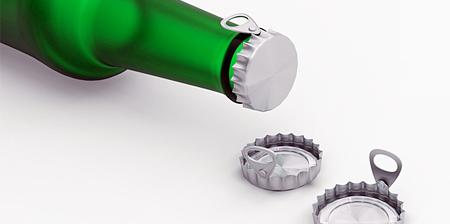 Easy Open Bottle Cap