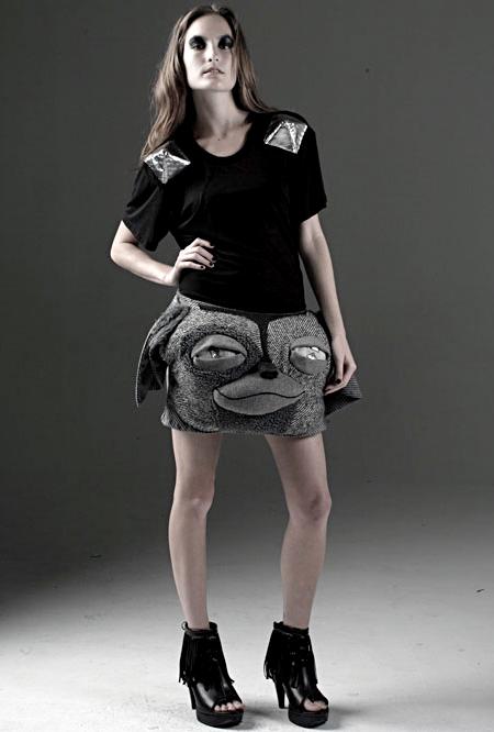 Brian Lichtenberg Gizmo Skirt