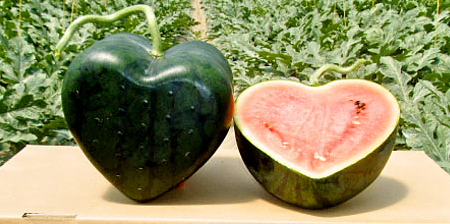 Heart Shaped Watermelon