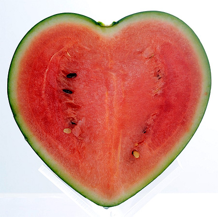 Heart Watermelon
