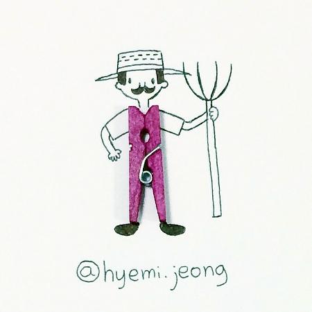 Hyemi Jeong Creative Drawings