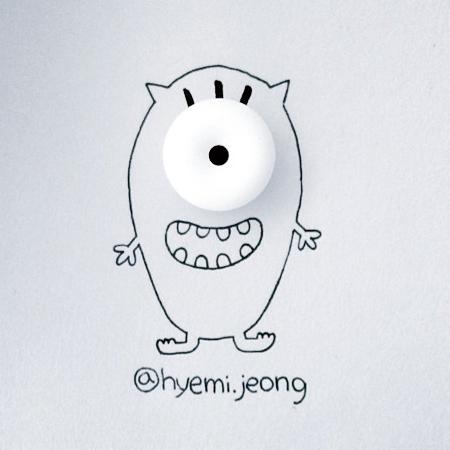 Hyemi Jeong Drawings