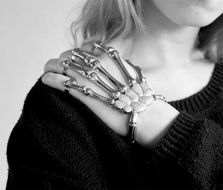 Delfina Delettrez Skeleton Bracelet