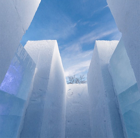 Snow and Ice Labyrinth