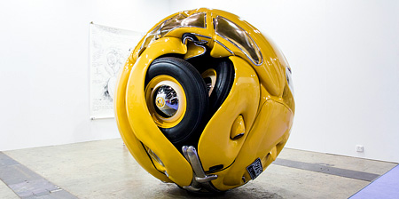VW Beetle Sculptures
