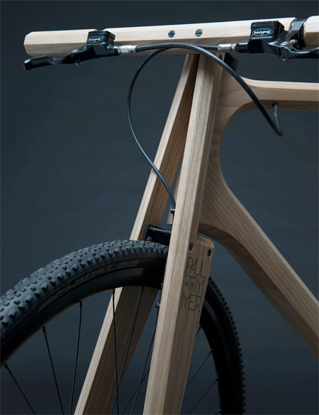Paul Timmer Wooden Bicycle