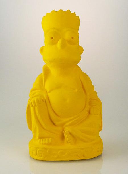 Bart Simpson Buddha