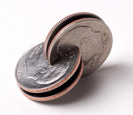 Interlocked Coin Art
