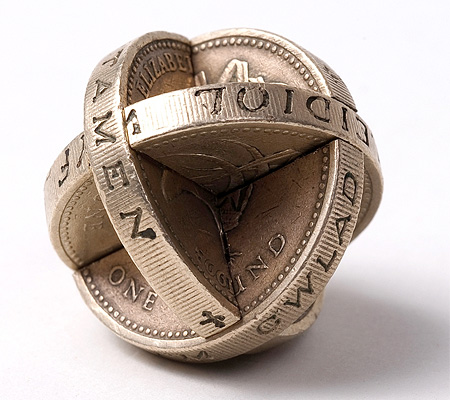 Coins Sculptures