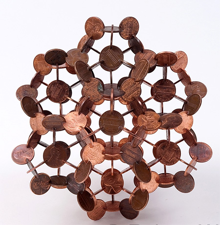 Coins Sculpture