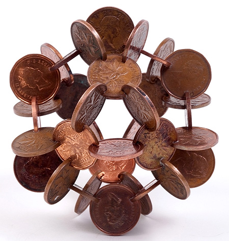 Coin Sculptures