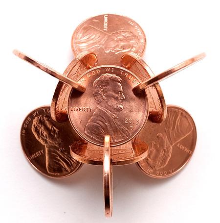 Coin Sculpture