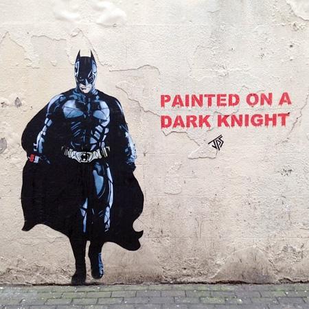 Batman Street Art