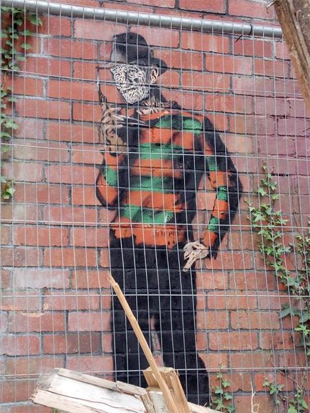 British Street Artist JPS