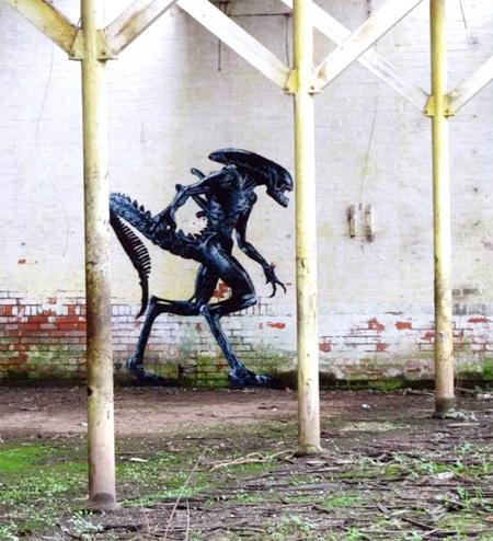 UK Street Artist JPS