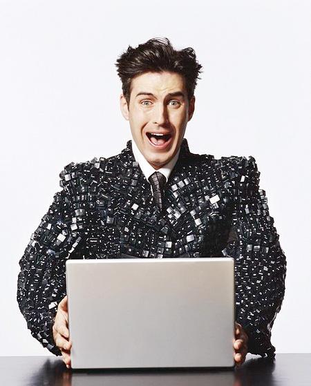 Keyboard Suit Jacket