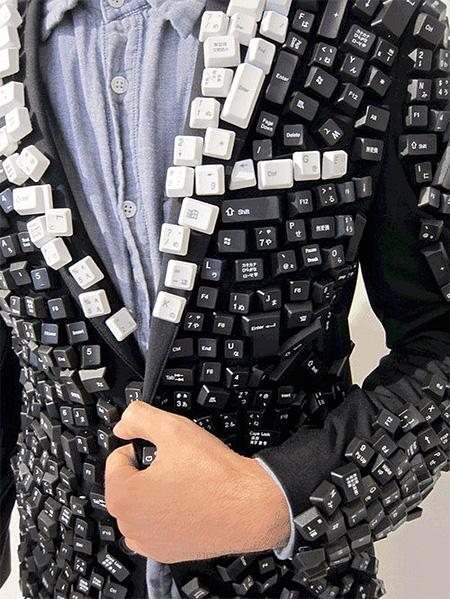 Keyboard Jacket by Julien David