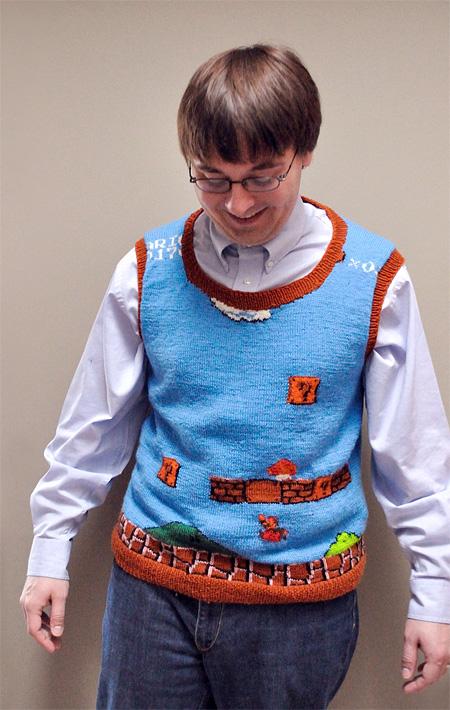 Mario Sweater Vest