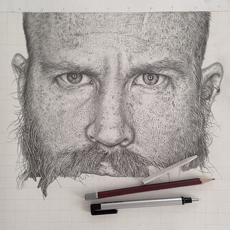 Pencil Drawings by Monica Lee