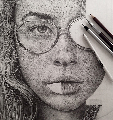 Pencil Art by Monica Lee