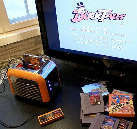 Nintendo NES Toaster