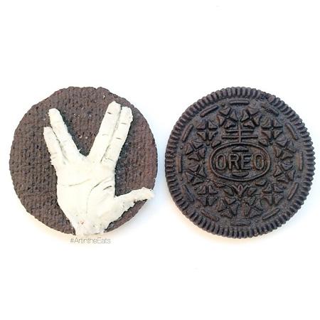 Oreo Cookie Art